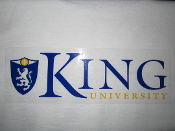King University Static with Crest