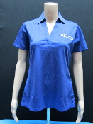 KU Ladies DriFit Polo - Royal