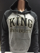 KU Tri Blend Color Block Hoodie