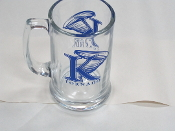 King University Glass Tankard