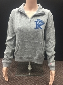 King University Quarter Zip Sweatshirt