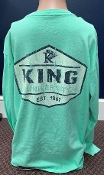 KU Pocket Tee - Mint Green