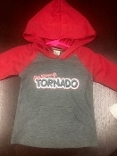 Infant Hoodie T Shirt - Red
