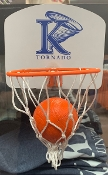 KU Mini Basketball Goal